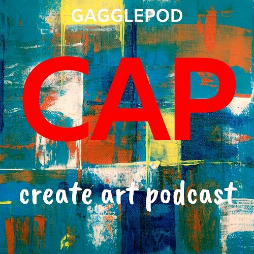 Create Art Podcast logo, logo,