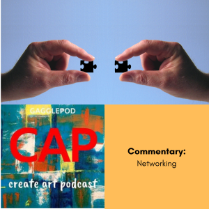 two hands holding connecting puzzle pieces, cap logo