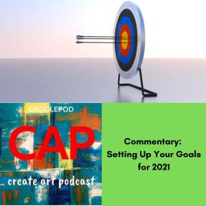 arrows stuck in target in blank background, CAP logo